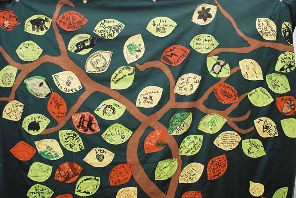 The Treasure Tree, detail