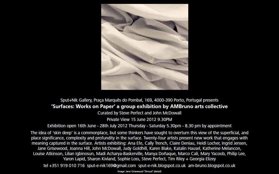 Surfaces : Works on Paper