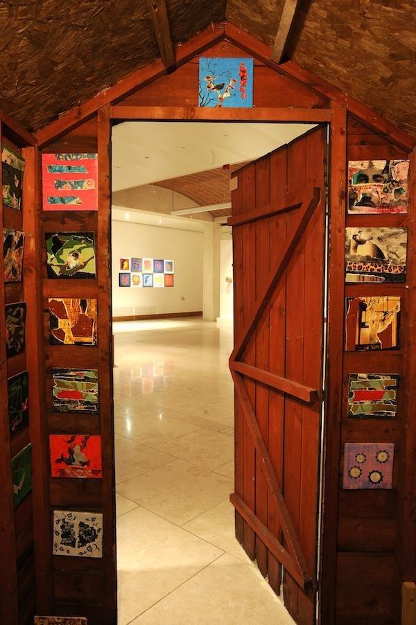 Interior 2, doorway